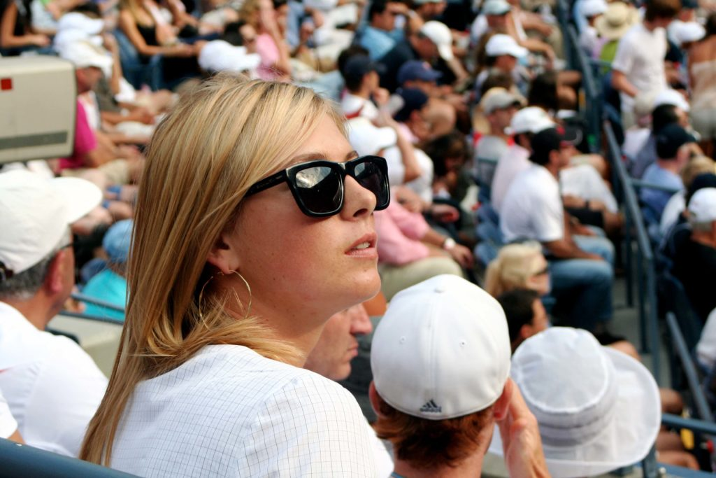 We are seeing Maria with wear nice Sunglass.