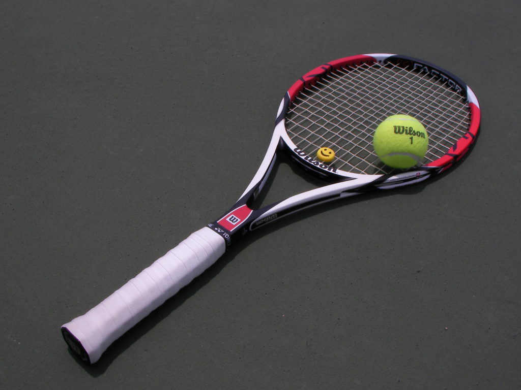 ball and racquet