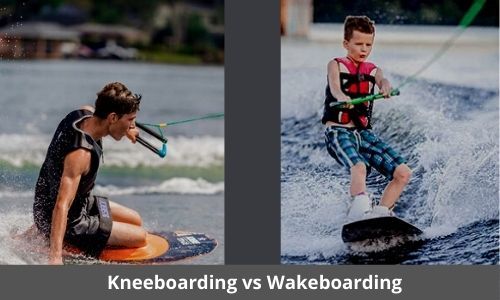 Kneeboarding vs Wakeboarding