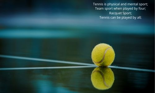 tennis is physical and mental sport